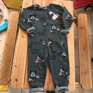 Two Mickey Mouse jumpsuit 7 and 9